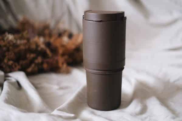 轉轉杯咖啡色大杯