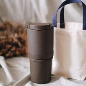 轉轉杯咖啡色加提袋