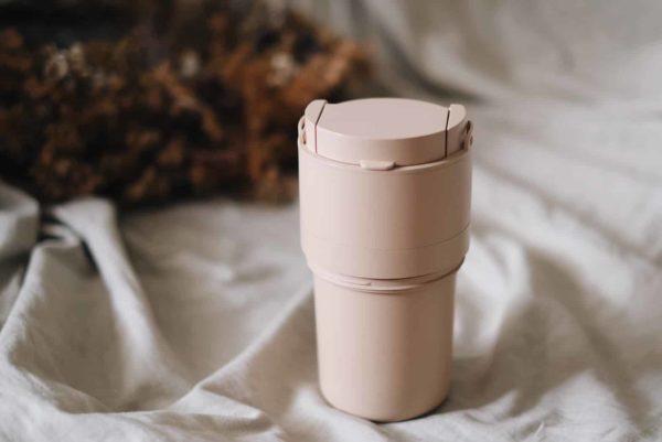 turned tumbler medium milk tea